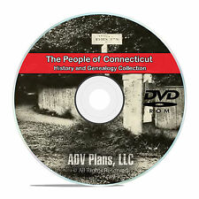 Connecticut CT, People, Civil War Stories History Genealogy 401 Books DVD CD V96