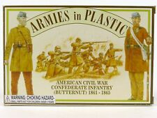 Armies in Plastic Soldiers ACW American Civil War Confederate Infantry 5461