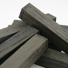 set 4pcs of lot Bog Oak morta, wood Woodturning/ knife scale blo 20 x 20 x 135mm