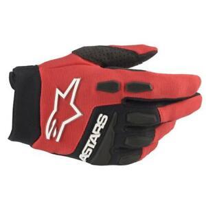 NEW Alpinestars 2022 Youth Full Bore Gloves  - Bright Red/Black from Moto Heaven
