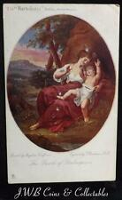 "Old Postcard The ""Bartolozzi"" Series, British Museum ""The Birth of Shakespeare"""