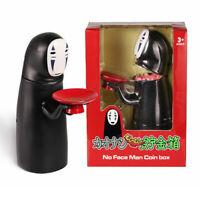 Coin Bank Spirited Away No-Face Man Kaonashi Music Piggy Bank Figure Gift Anime
