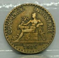 KM# 876 - 1 franc chambre de commerce 1926 - TB - monnaie France - N5387