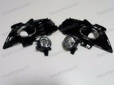 Fog Lights Front Driving Lamps+Bezels Kits for Ford Fusion Mondeo 2013-2016