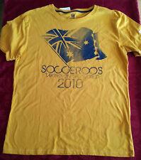 SOCCEROOS 'TAKING ON THE WORLD 2010' TSHIRT, AUSTRALIAN, brand new