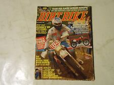 DECEMBER 1988 DIRT BIKE MAGAZINE,HONDA CR125RK,MX DES NATIONS,4 STROKES,GO FAST