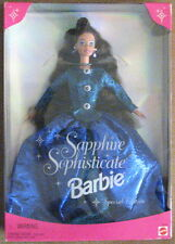 Mattel Sapphire Sophisticate blue dress Barbie doll special edition 16692 BN