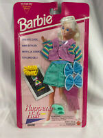 Vintage 1993 Mattel Barbie Happening Hair Fashions Summer Outfit, Styling Gel