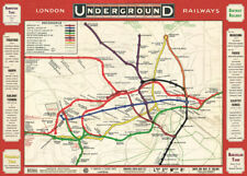 Cavallini & Co. London Underground Map Decorative Paper Sheet / Poster / Wrap
