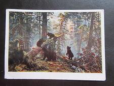 AK Iwan Schischkin - Recke des russischen Waldes-Bären-60er Jahre