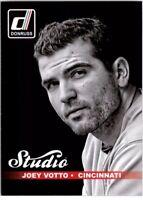 2014 Donruss Studio Cincinnati Reds Baseball Card #10B Joey Votto