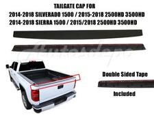 Tailgate Molding Trim Cap Protector For Silverado 1500 2500hd 3500hd 2015 2018 Fits Chevrolet