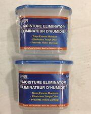 2 All Moisture Eliminators Absorber  :BlueTrim Self Contain Unit Traps Odors.