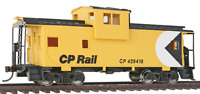 Walthers Trainline Canadian Pacific CPR Wide Vision Caboose #439418 - HO Scale