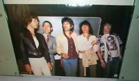 ROLLING STONES Vintage  Grp Poster Vintage 1983 Mic Jagger Poster
