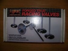 Flaming River Forged Stainless Steel True Racing Valves, #2207, SBC, Intake, 8pc