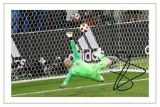 JORDAN PICKFORD ENGLAND WORLD CUP 2018 SIGNED AUTOGRAPH PHOTO PRINT PENALTY SAVE