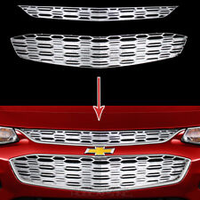 for Chevy Malibu 2016 17 2018 CHROME Snap On Grille Overlay Grill Covers Inserts