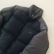 Helly Hansen Navy / Grey Down Puffer Jacket Size: Medium