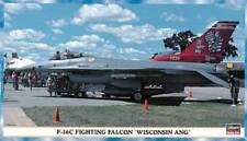 F-16 C-30 FIGHTING FALCON WISCONSIN AIR NATIONAL GUARD 1/48 HASEGAWA LIMITED ED.