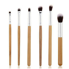 6 pcs Eye Essential Eyeshadow/Eyeliner/Crease/Blending Make up brushes brush set