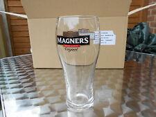 NEW 12 PINT GLASSES 12 total in box magners original irish cider