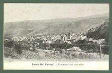 Abruzzo. TORRE DE' PASSERI, Pescara. Panorama. Cartolina viaggiata nel 1911.