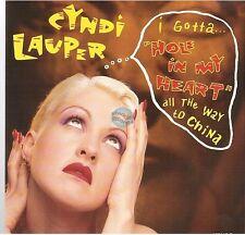 "CYNDI LAUPER hole in my heart / boy blue 45T 7"""