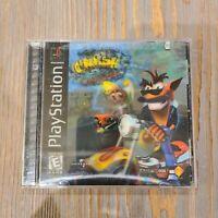 Crash Bandicoot Warped (1999) Sony Playstation 1 PS1 - COMPLETE CIB