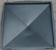 Pfeilerabdeckung  49 x 49 cm (glatt) Schalungsform 371 Pfosten Gießform