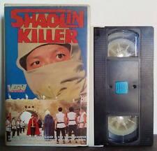 VHS FILM Deutsch Azione SHAOLIN KILLER RARO!!! ex nolo no dvd(VHS13)