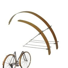 "Bike Fender Bamboo Wood Flat For  20""  24"" 26""  Road City 700C Width 40mm"