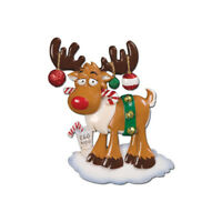 Christmas Reindeer Personalized Christmas Tree Ornament