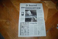 JOURNAL 2 PAGES OUVERTURE RESTAURANT RATATOUILLE DISNEYLAND PARIS
