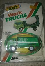 RARE VINTAGE DIE CAST JA-RU SEVEN UP DELIVERY TRUCK NEW IN PACKAGE