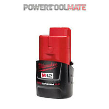 Milwaukee M12B2 2.0ah Lithium Ion Battery Red