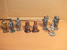 8 x Figuren aus Metall Überraschungseier älterer Jahrgang gut erhalten Ü-Ei