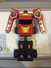 Bandai 1984 Gobots Red Toyota Hilux Truck- Transformers Good Shape Works Great