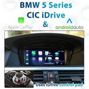 BMW E60 5 Series LCI - CIC iDrive Apple CarPlay & Android Auto Integration