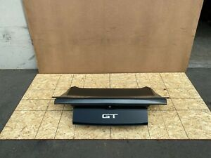 FORD MUSTANG GT COUPE 2015-2020 OEM TRUNK LID WITH SPOILER (COMPLETE/ GRAY). 72K