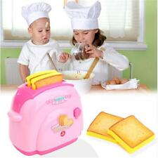 Kitchen Appliance Mini Toaster Kids Children Simulation Pretend Play House Toys