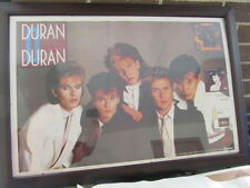 DURAN DURAN - VINTAGE POSTER - NEW OLD STOCK  - CAPITOL RECORDS - CASSETTES AD
