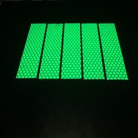 NEW Green High Intensity Reflective Tape Vinyl Self-Adhesive 50mm×5 Meters