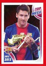 FC BARCELONA 2012-2013 Panini - Figurina-Sticker n. 168 - TOP MESSI -New