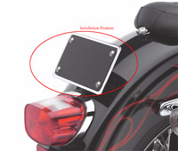 License Plate Mounting Kit For Harley Softail Deluxe FLSTN/ SuperLow XL883L Chro