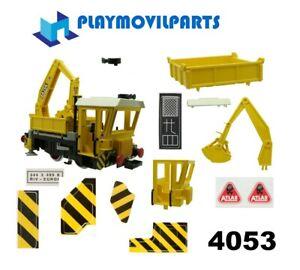 PLAYMOBIL 4053 WORKS TRAIN ><> 27-01-21 multi