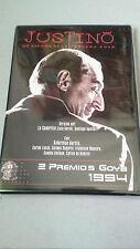 """DVD """"JUSTINO UN ASESINO DE LA TERCERA EDAD"""" COMO NUEVA LA CUADRILLA SATURNINO"""