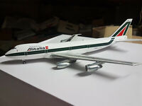 Alitalia Team Boeing B747-200 I-DEMY Asolo 1:200 Die Cast - InFlight 200 Nuovo