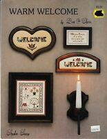 Warm Welcome Charted Cross Stitch | Studio Seven