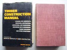 2 American Institute Timber Design & Construction Handbook '56 2nd Ed Manual '74